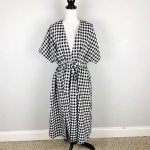 NWT Glamorous Gingham Maxi Dress